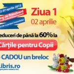 Reduceri de pana la 60% la Cartile pentru Copii + CADOU* + Transport GRATUIT!