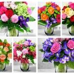 La multi ani, Maria! Florile sunt cel mai frumos cadou.