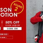 Round 2 Season Promotion SheIn – Clothes and shoes – 50% Discount