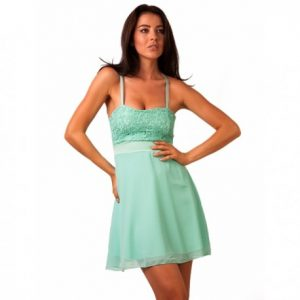 rochie-dama-glass-girl-turquoise-de-seara