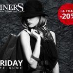 Black Friday la StarShinerS. Branduri de top îți aduc eleganța la preț redus