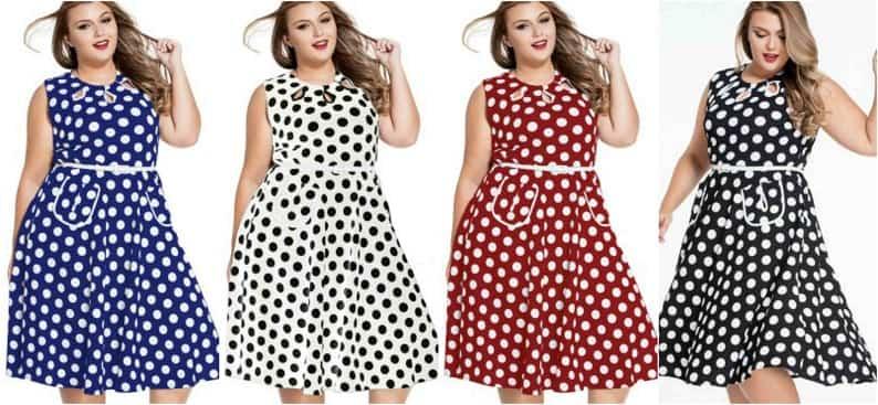 rochii cu buline masuri mari