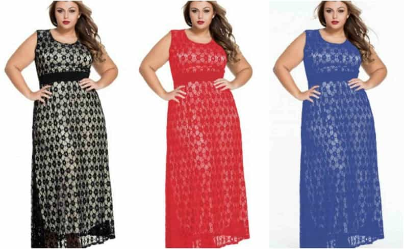 rochii lungi dantelă XXXL