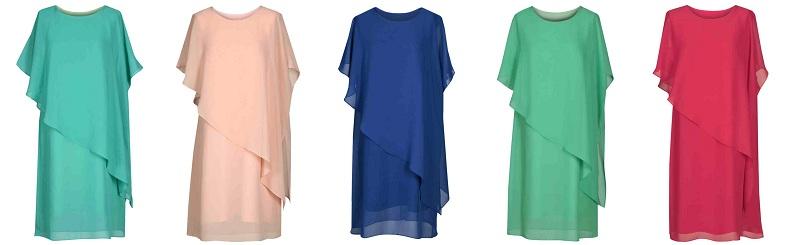 rochii masuri mari cu aspect dublu
