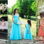 De unde cumperi ținute set mamă – fiică, inclusiv rochii de ocazie?