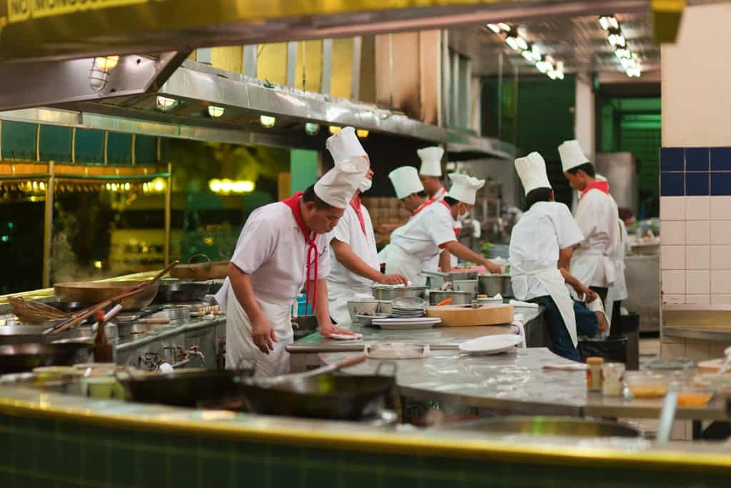 bucatarie restaurant-