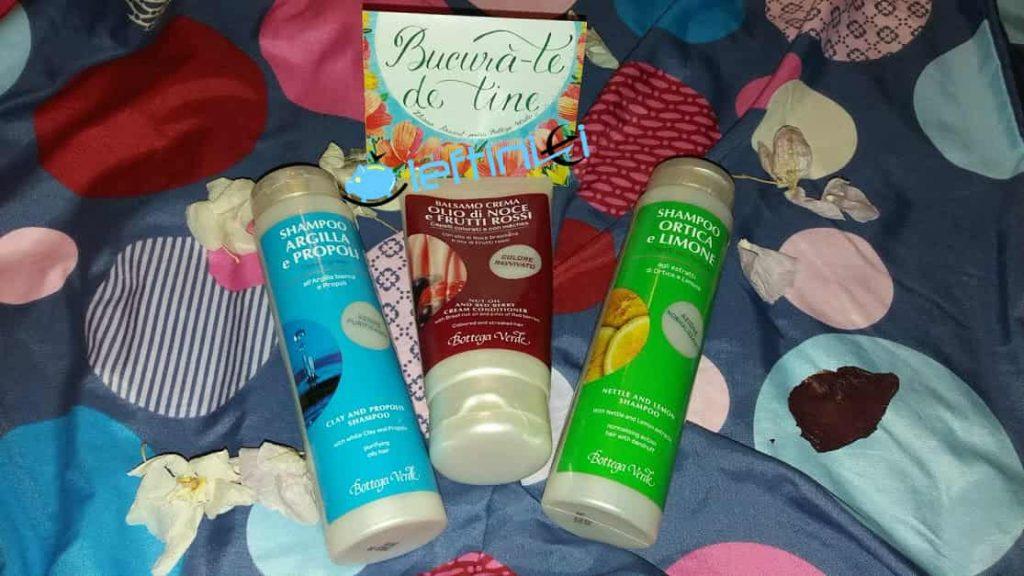produse pentru îngrijirea părului bottega verde