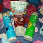 Produse pentru îngrijirea părului marca Bottega Verde – două șampoane și un balsam de păr