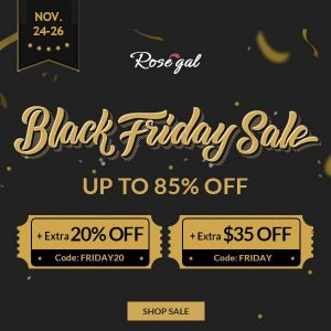 rosegal sale black friday