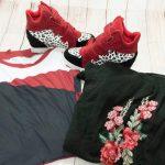 3 produse noi de pe Dresslily – sneakerși, pulover cu broderie și bluză asimetrică