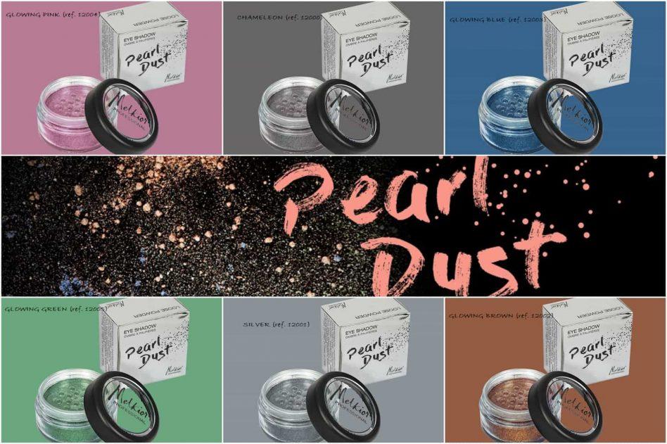 farduri pentru strălucire intensă pudra libera pearl dust nuante melkior
