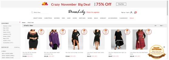 new arrivals dresslily