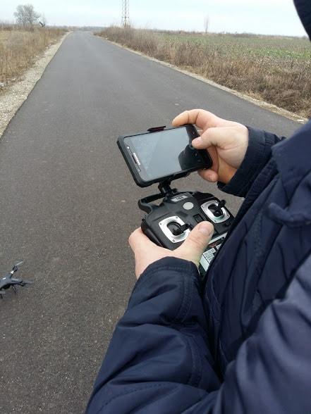 telecomanda drona