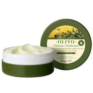 mască pentru păr uscat, cu ulei de măsline extravirgin