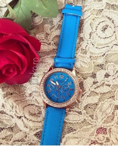 ceas albastru de dama