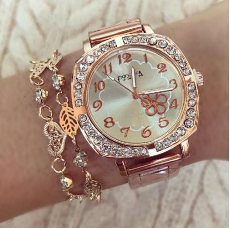 ceas auriu de dama