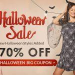 rosegal halloween sales