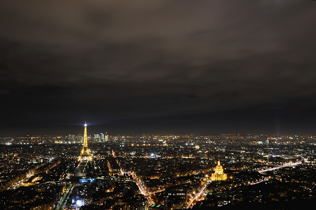 vedere din turnul Eiffel